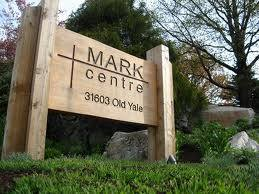 MARK Centre Sign